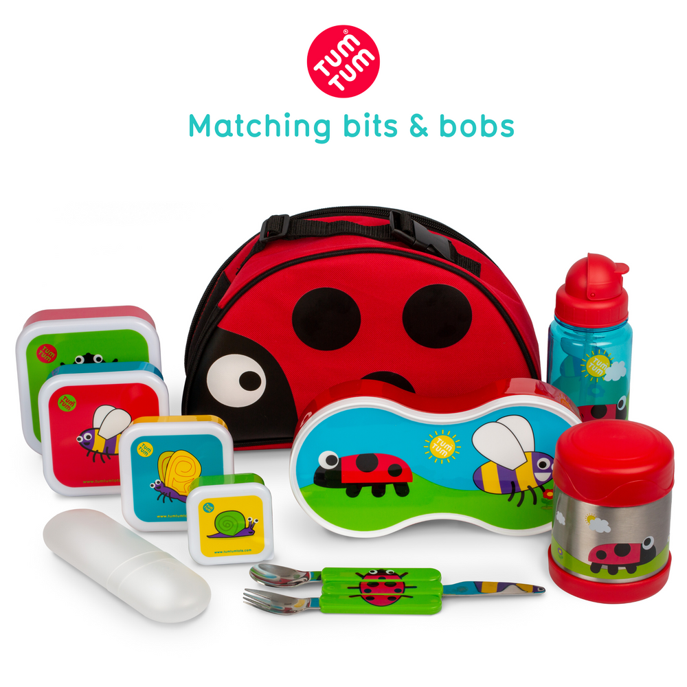 ladybird lunchbag for kids