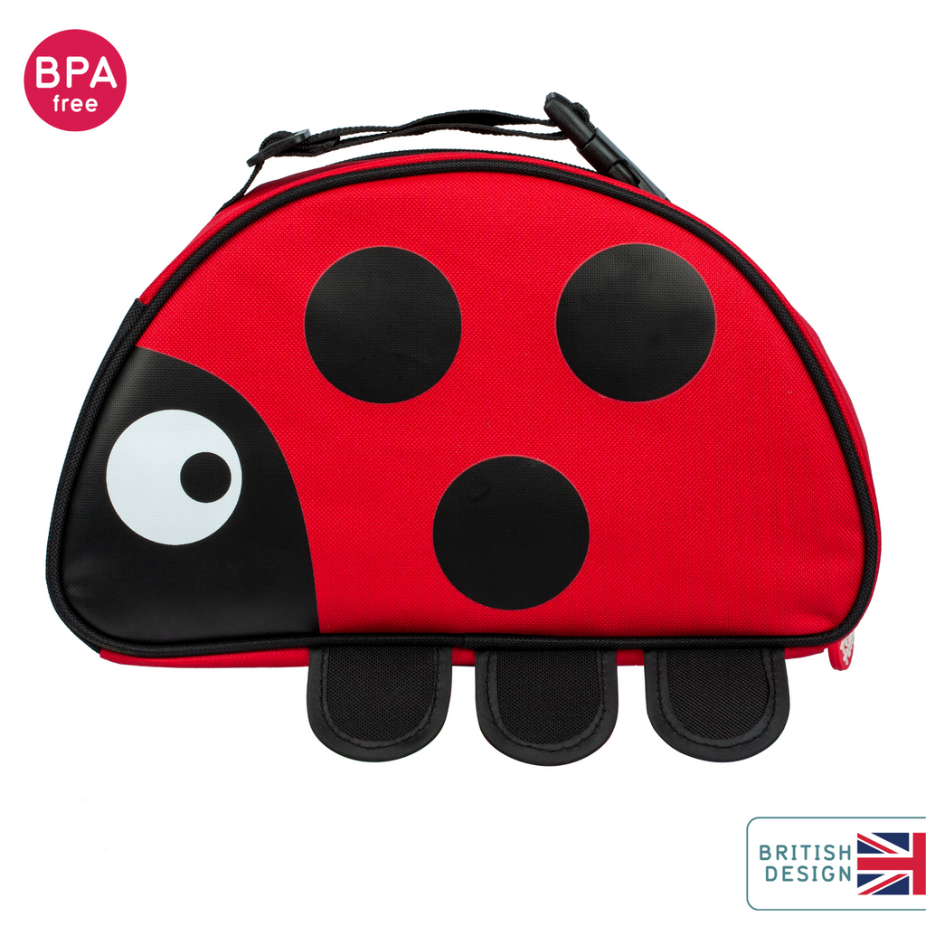 ladybird lunch bag for kids