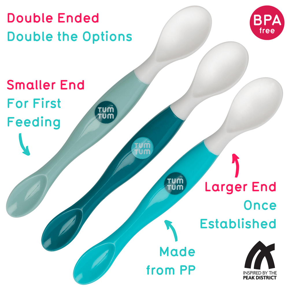 3pc Swapsie Weaning Spoons Set, Double Ended