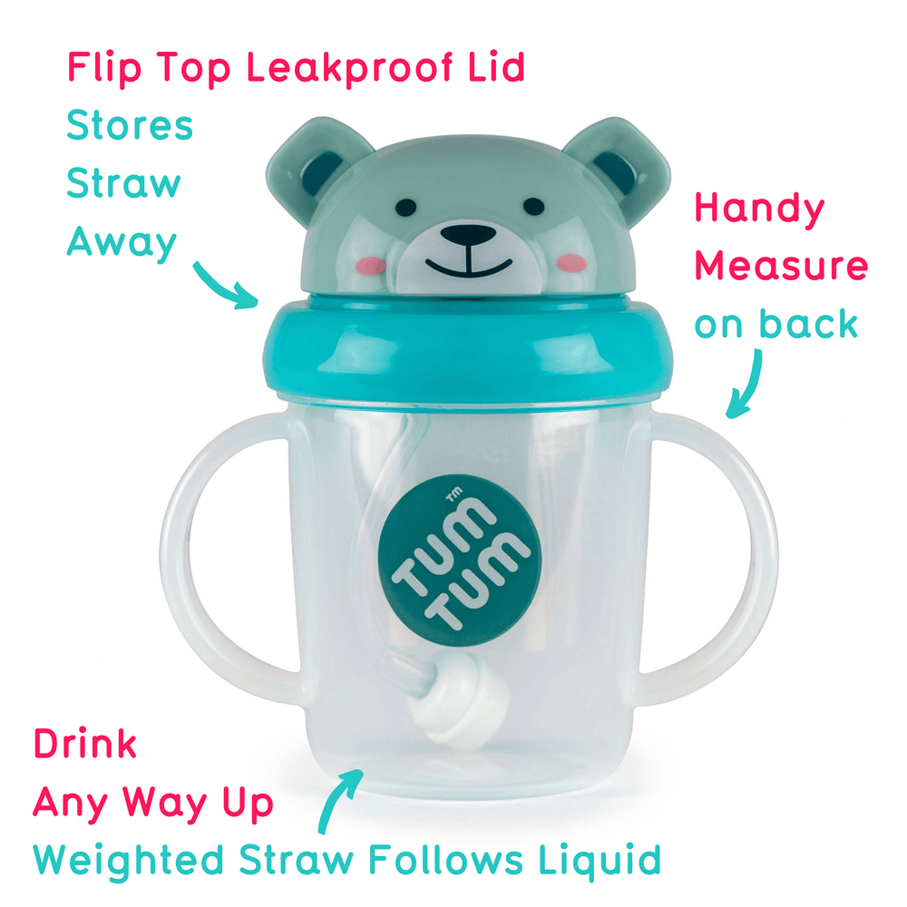 Toddler sippy cup Boris Bear