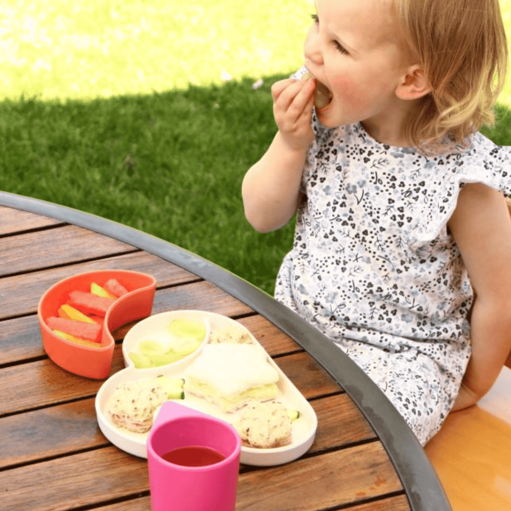 Bamboo toddler dinner plate