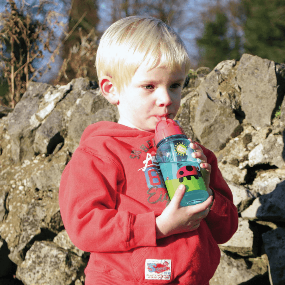 Refillable childrens water bottle