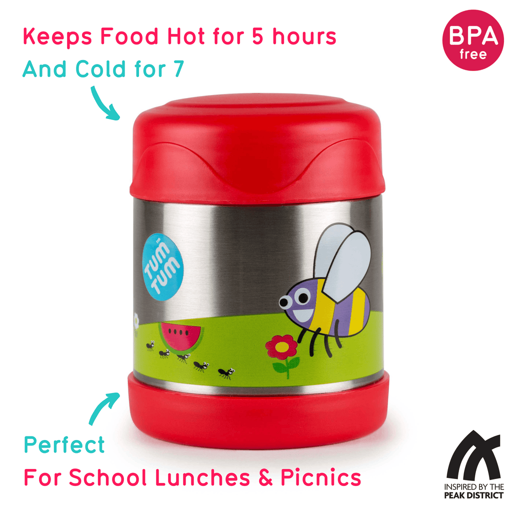 Kids Food Flask, Bugs, 300ml