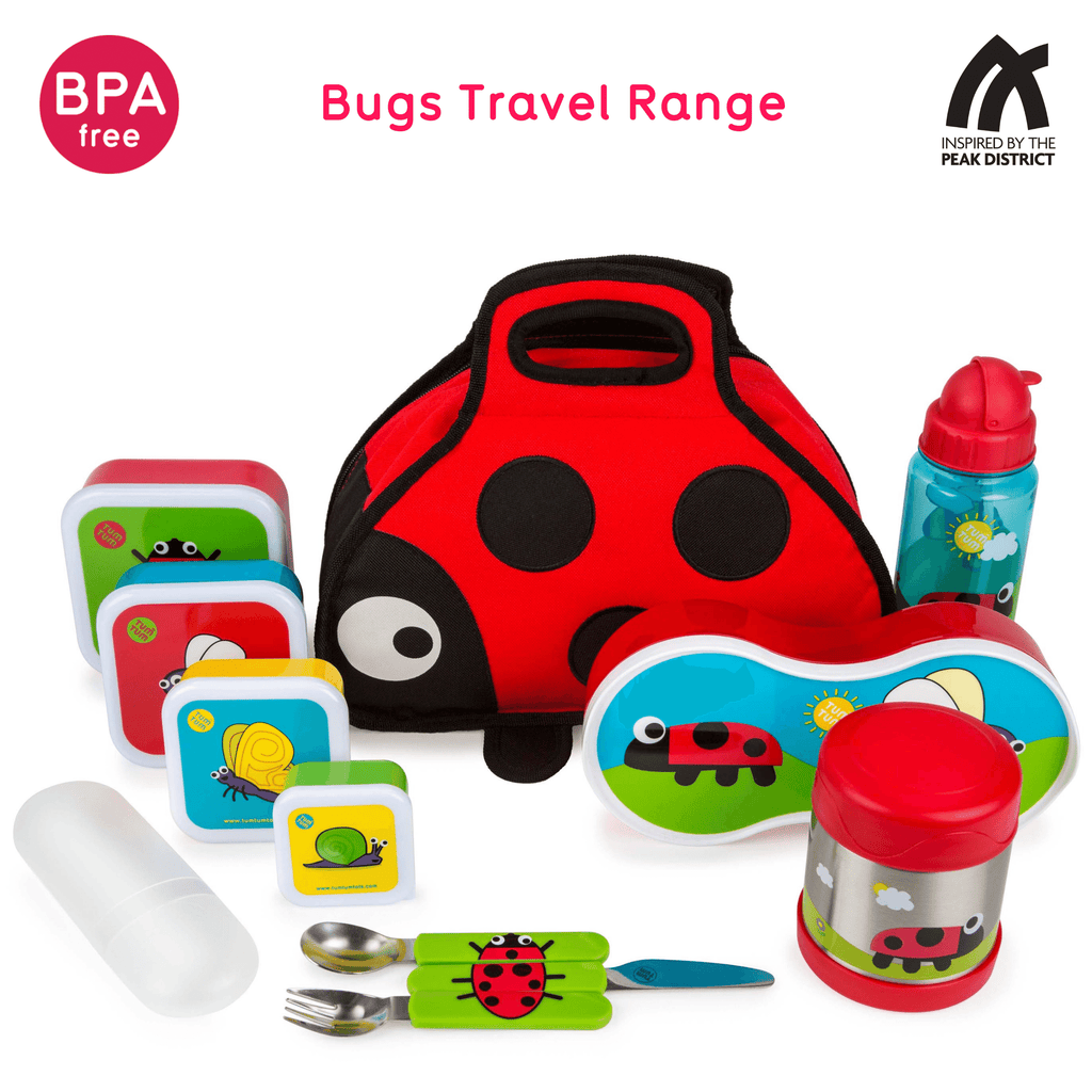 Kids food jar ladybird