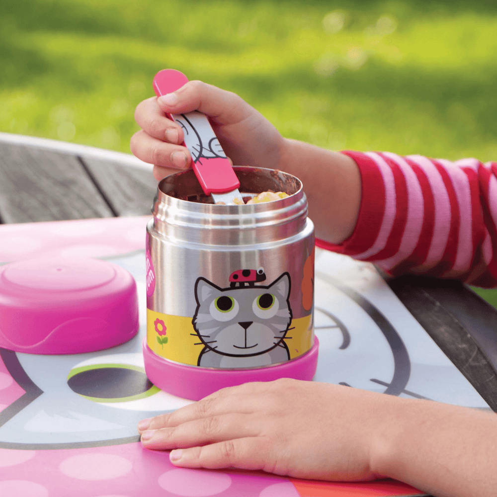 cat food jar for kids