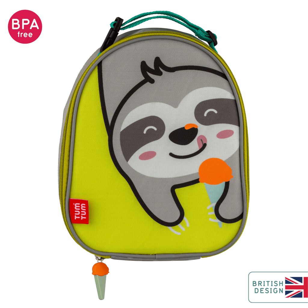 Sloth lunch bag for kids