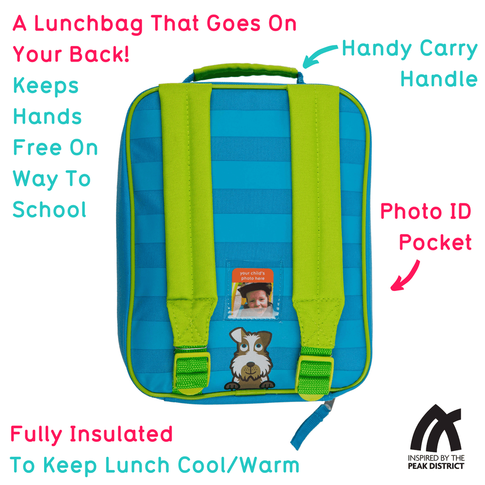 Backpack lunch bag