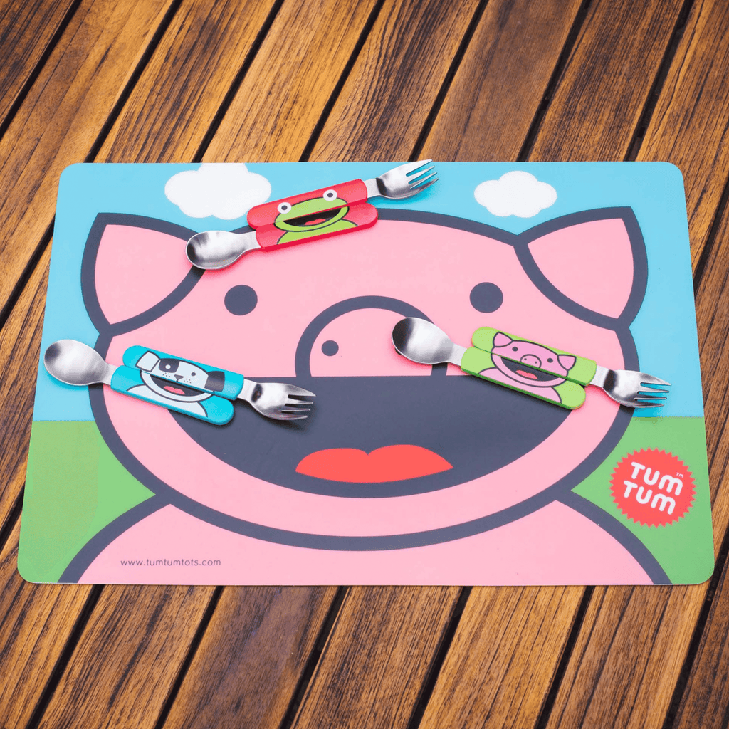 Pig place mat for kids