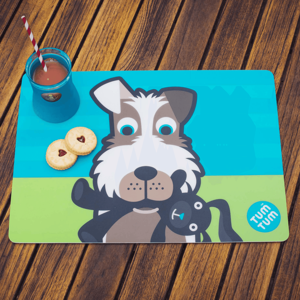 Kids placemat dog