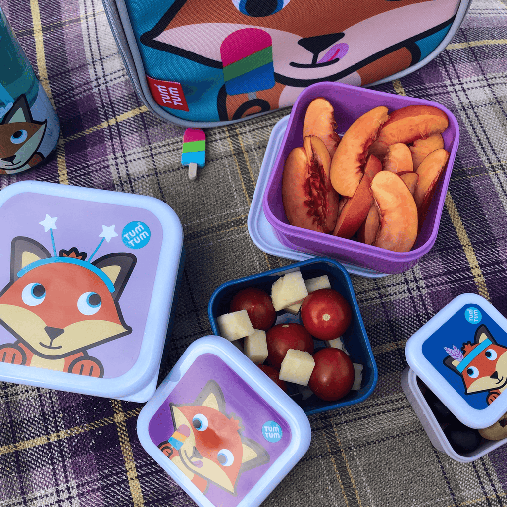 Snack boxes for kids fox
