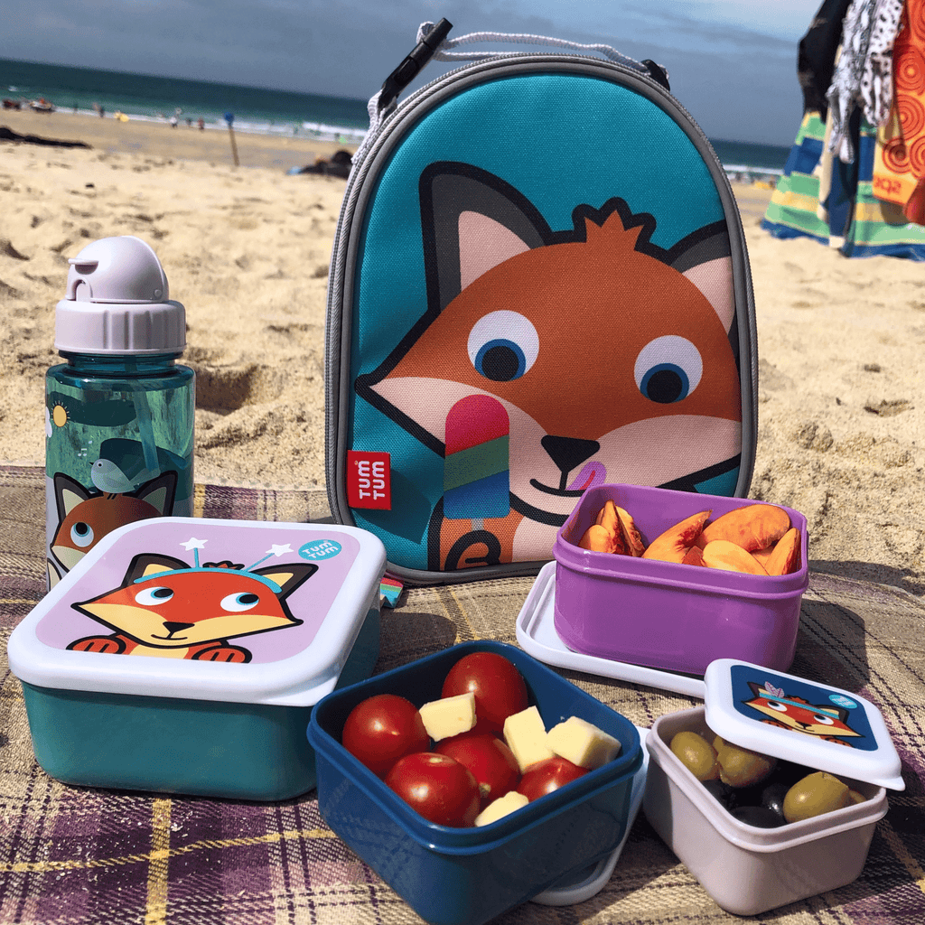Kids snack boxes fox