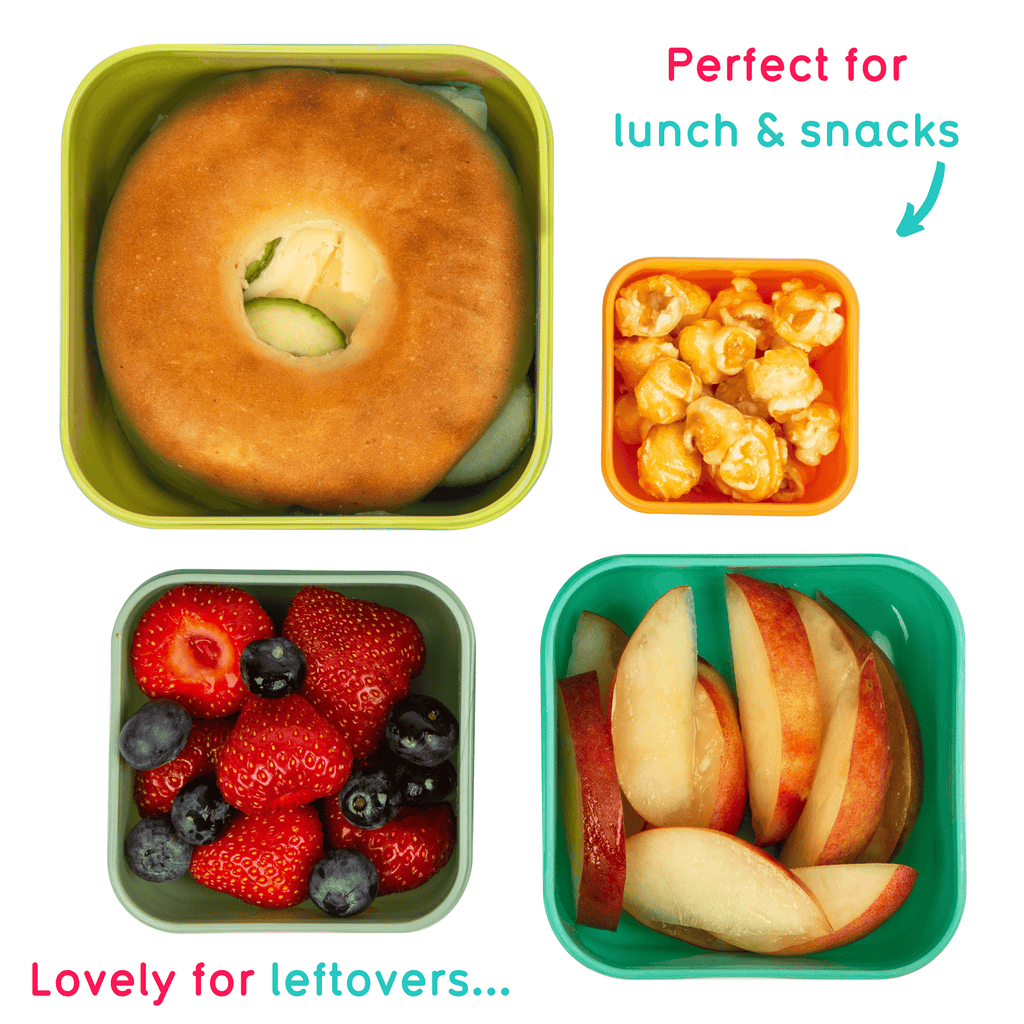 childrens nesting snack boxes