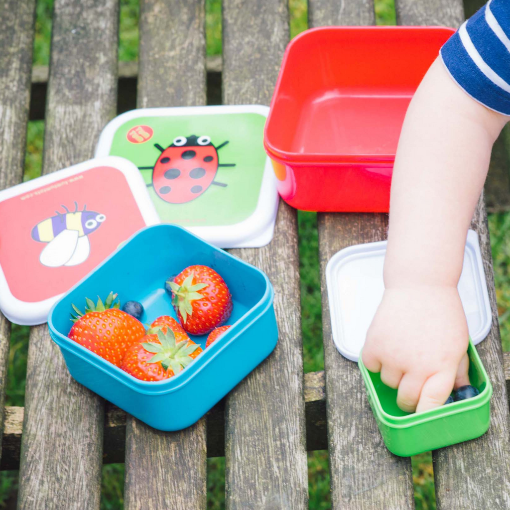 Kids snack containers