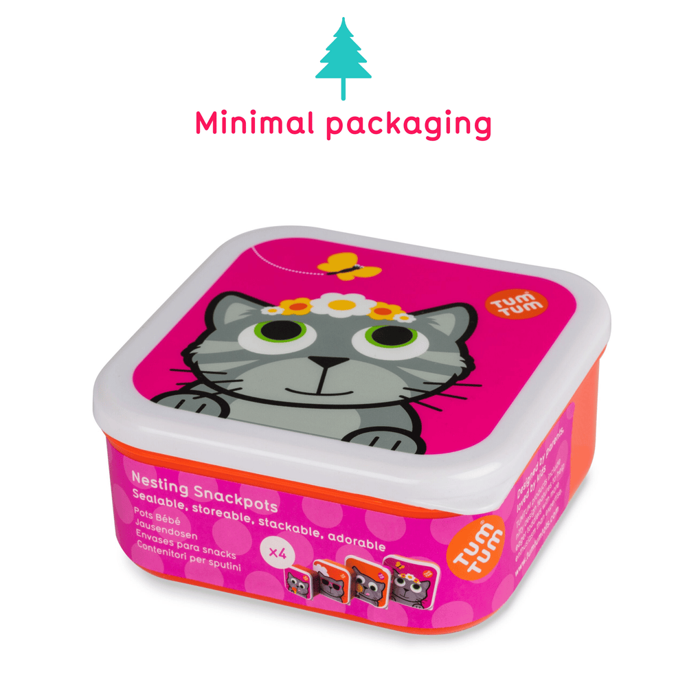 Snack boxes for kids, cat
