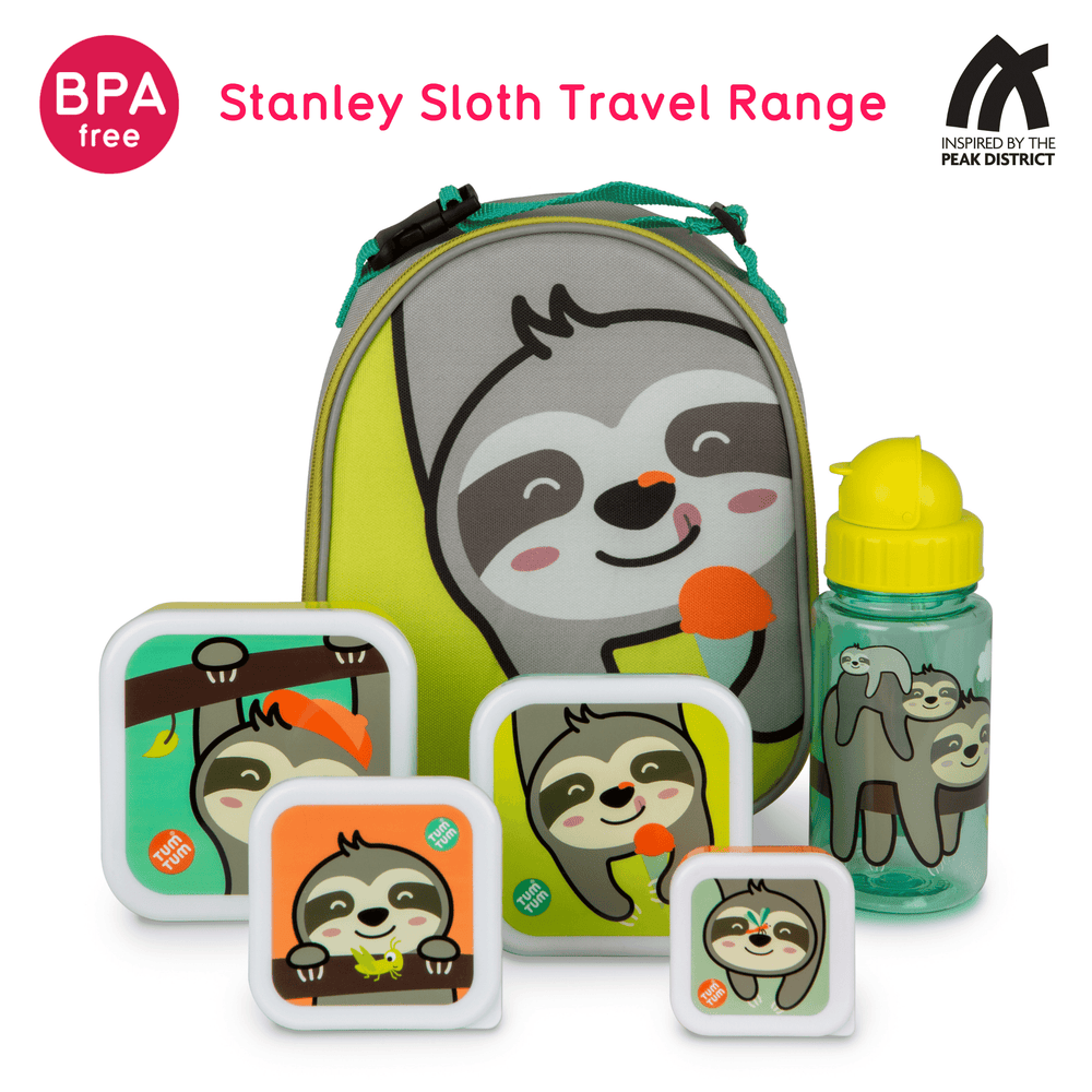 Nesting snack containers sloth