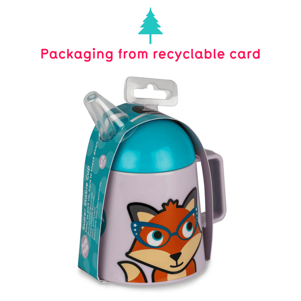 Fox drinking cup
