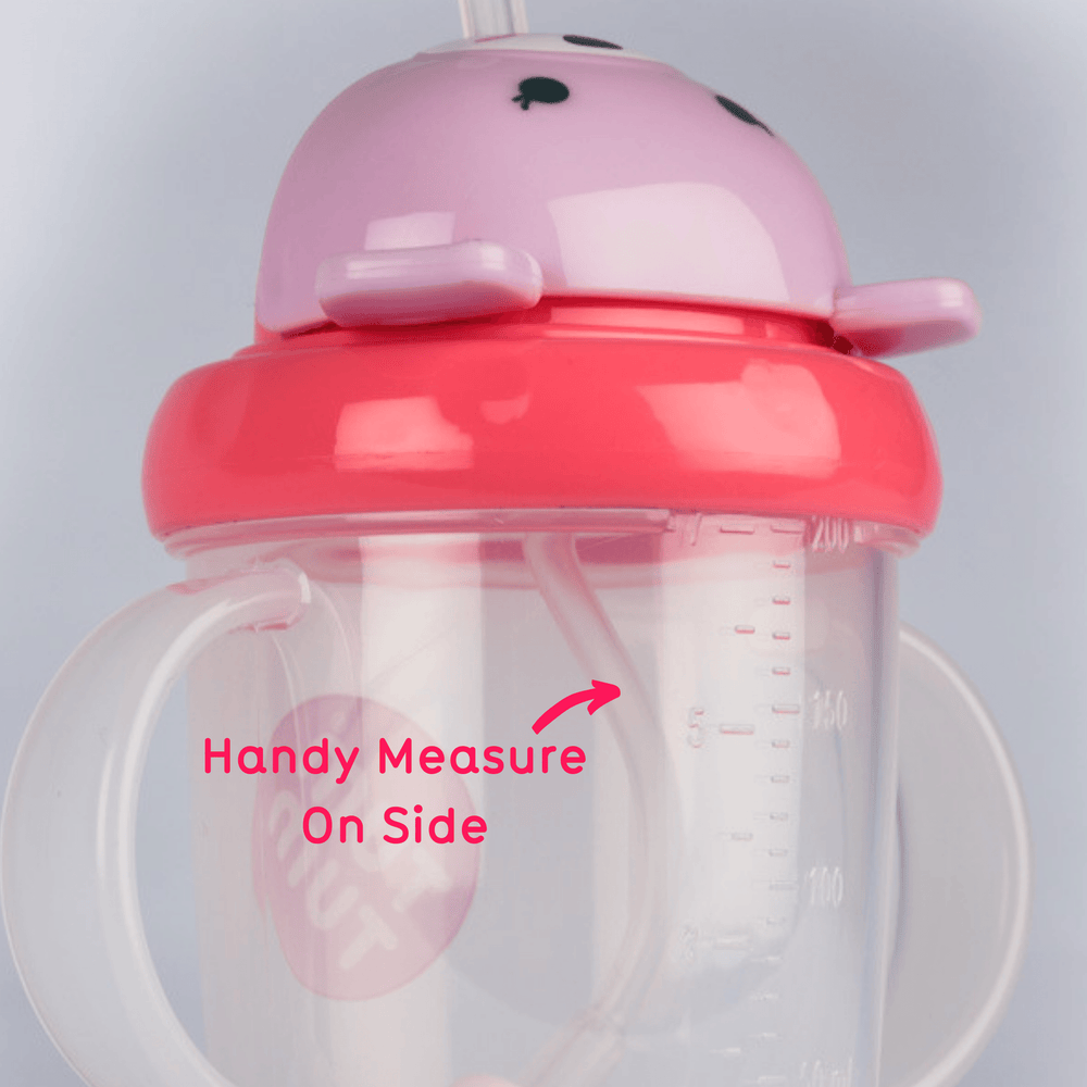 Tippy Up Sippy Cup with Weighted Straw, Betsy Bear, 200ml
