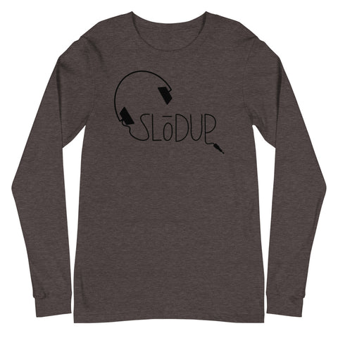 SLōDUP Headphone Long Sleeve T-Shirt