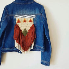 Load image into Gallery viewer, Wovenback Denim Jacket | Earth