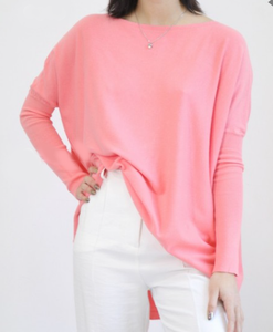 Kendra Knit Top | Melon