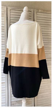 Load image into Gallery viewer, Mocha Stripe Knit