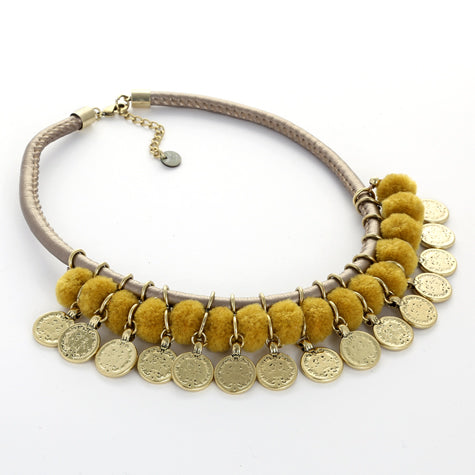 Bahamas Necklace | Mustard