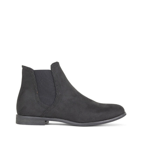 ELLERY Ankle Boots | Black Micro