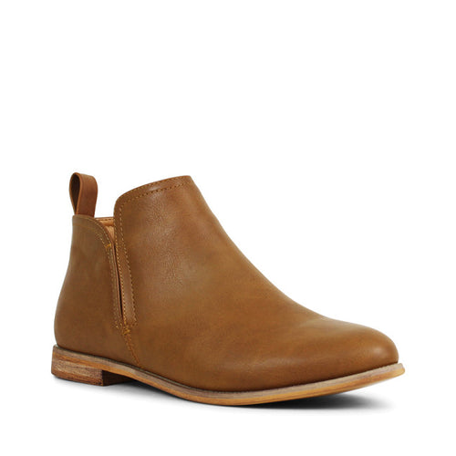 ENEMY Ankle Boots | Tan Smooth