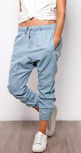 Vivi Jogger Jeans | Light Blue
