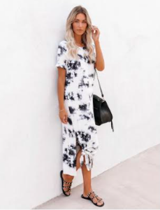 Maddy Tie Dye Dress