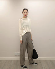 cool grey soft pants