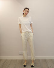 rice white pants