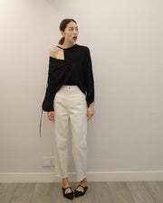white peg pants (PREORDER)
