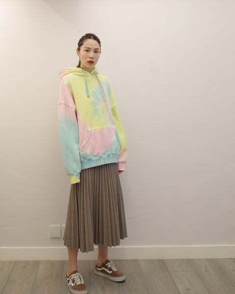 pastel tie dye sweat top (PREORDER)