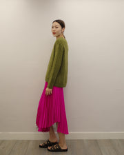 grass textured knit