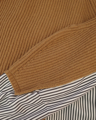 premium layered knit
