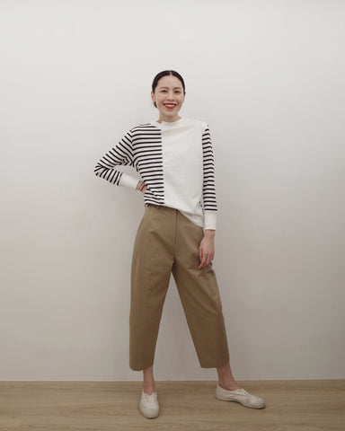 panel stripe top(preorder)