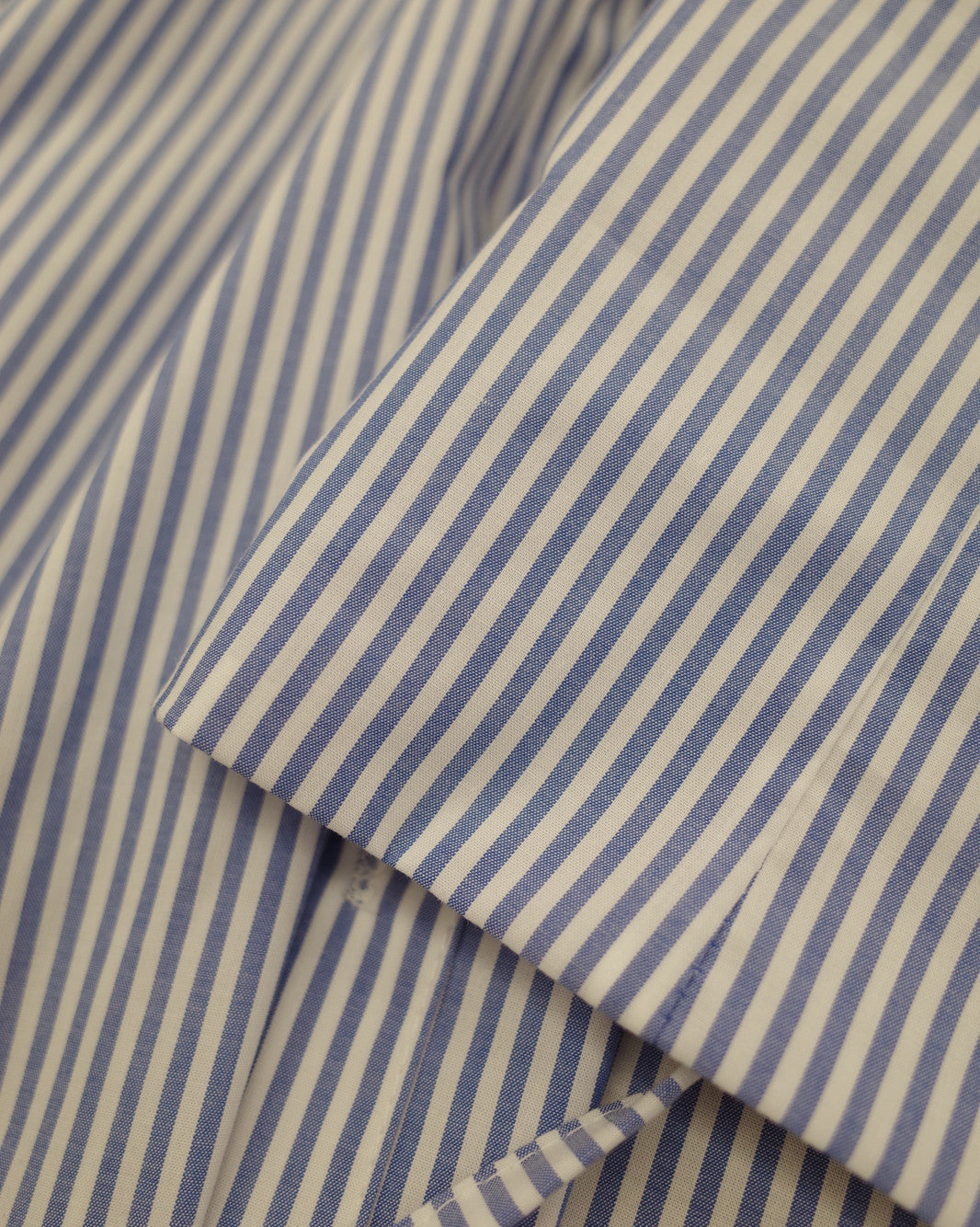 Pinstripe Shirt with Matching Belt