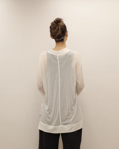 super soft sheer top