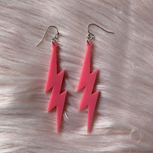 Load image into Gallery viewer, Lightning Bolt Earrings