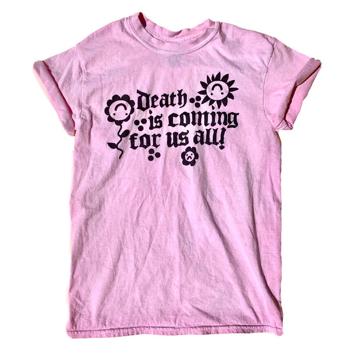 pink death is coming tee
