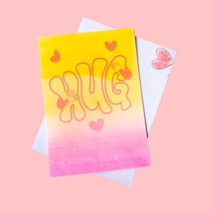 riso hug greeting card