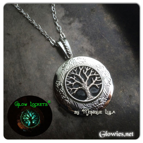 Galaxy Tree of Life Glow Locket ®
