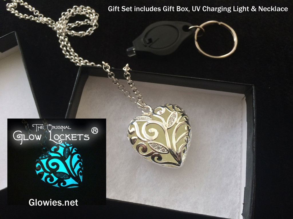 Gift Set Heart of Winter Glow Necklace