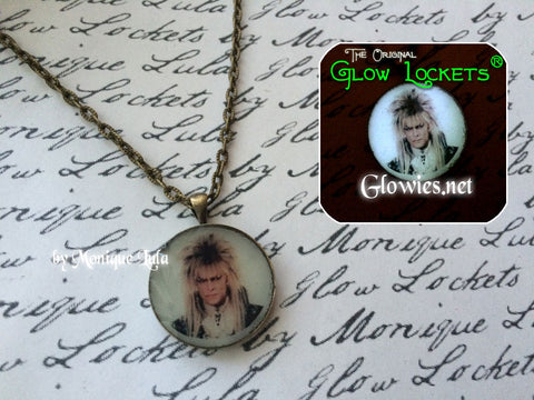 Jareth the Goblin King Glowing Necklace