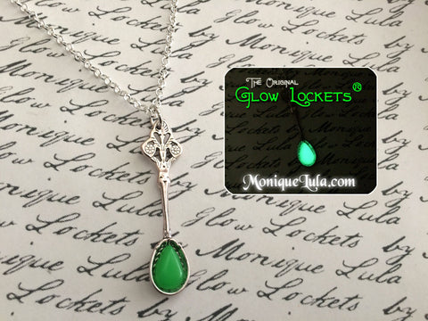 Absinthe Glowing Spoon Necklace