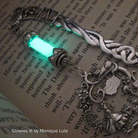 Alice in Wonderland Victorian Glow in the dark Lantern Bookmark