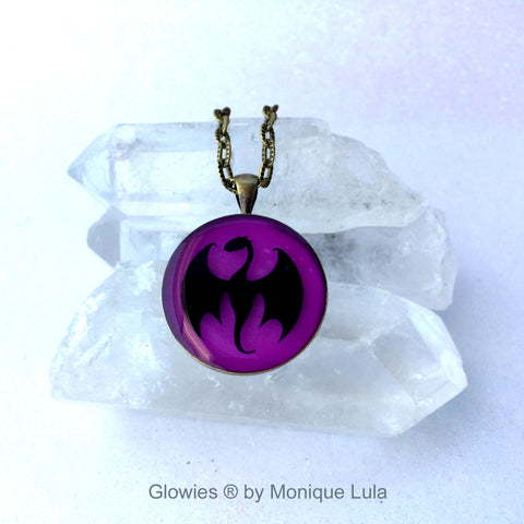 Baby Dragon Glow Necklace