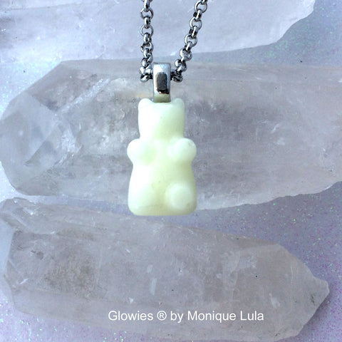 Glowie Bear Necklace