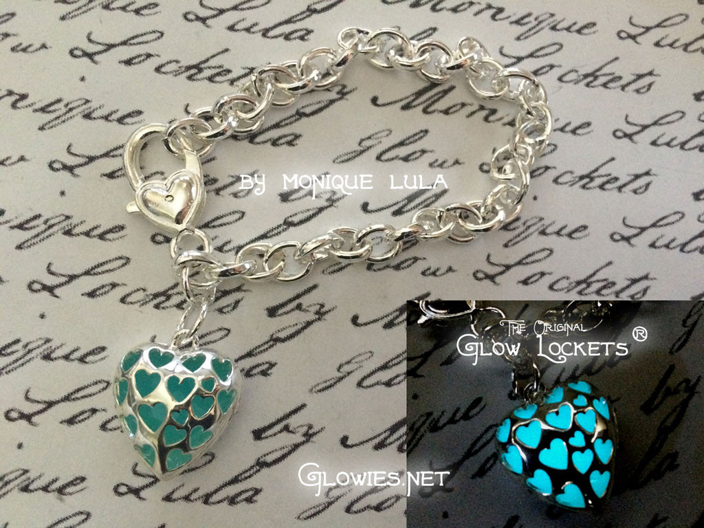 Love Spell Glowing Heart Bracelet
